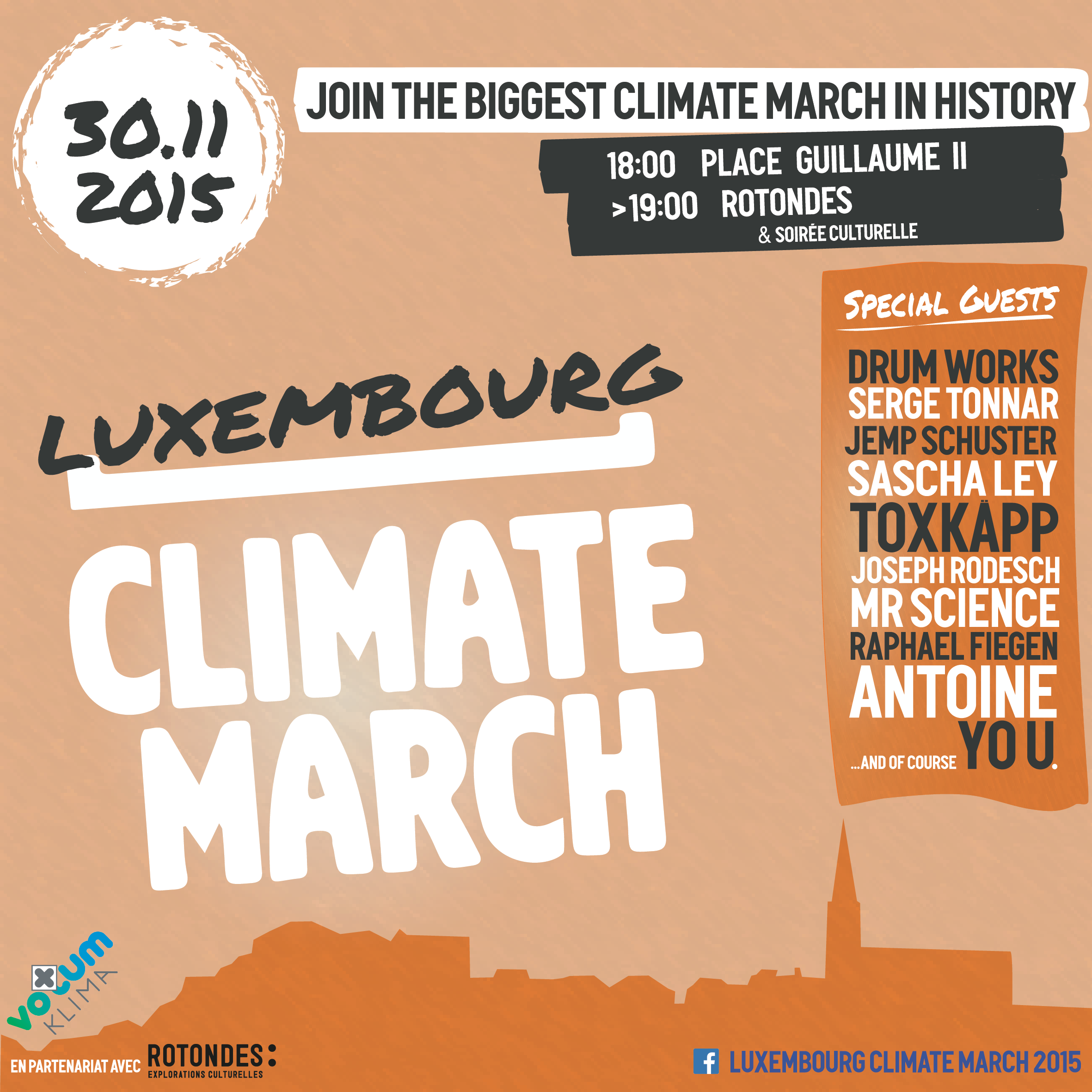 Climate March - Flyer print 1-01