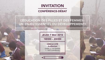 INVITATION education filles 1